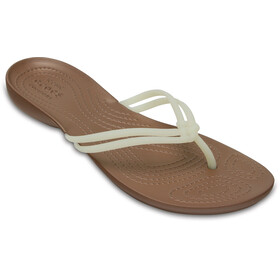 Crocs Isabella Flips Women White/Bronze